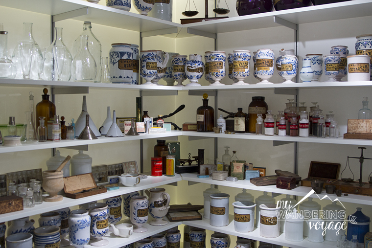 Museum at Le Monastere des Augustines monastery Quebec | My Wandering Voyage travel blog