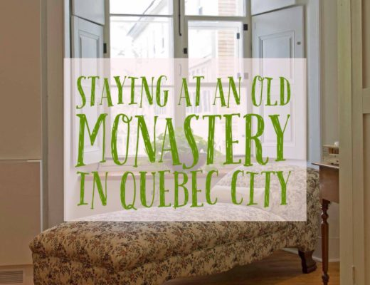 Staying in an old Quebec monastery | My Wandering Voyage travel blog