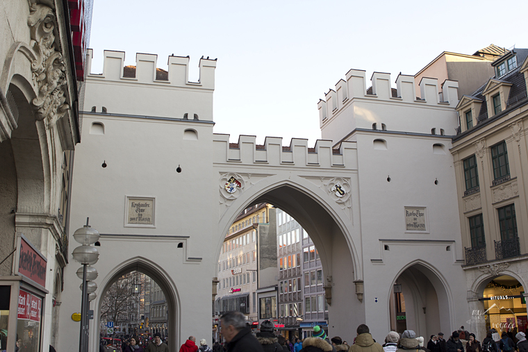 Karlstor Gate, Munich, Germany - What to do in Munich Germany with limited time | My Wandering Voyage travel blog