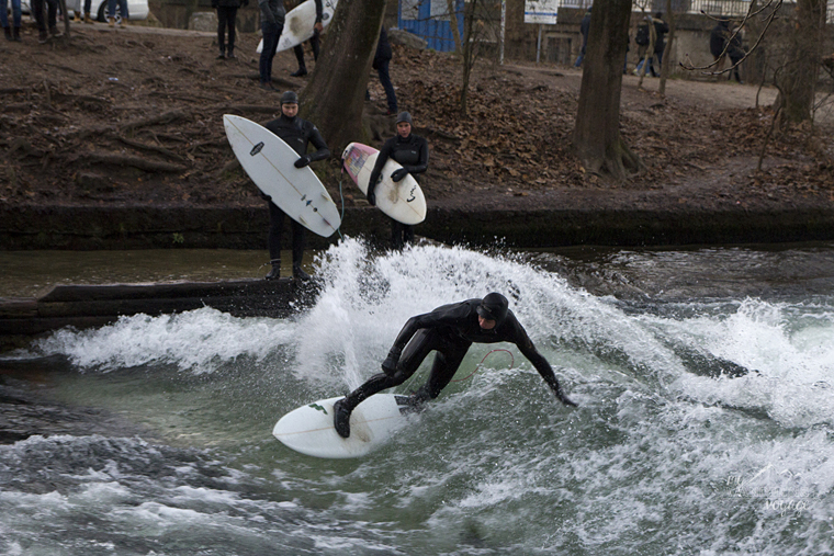 Surfing in Munich, Germany  - What to do in Munich Germany with limited time | My Wandering Voyage travel blog