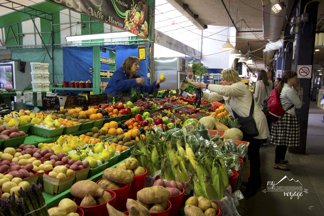 Enjoy the local eats at Atwater Market in Montreal - Three-day Montreal itinerary   My Wandering Voyage travel blog