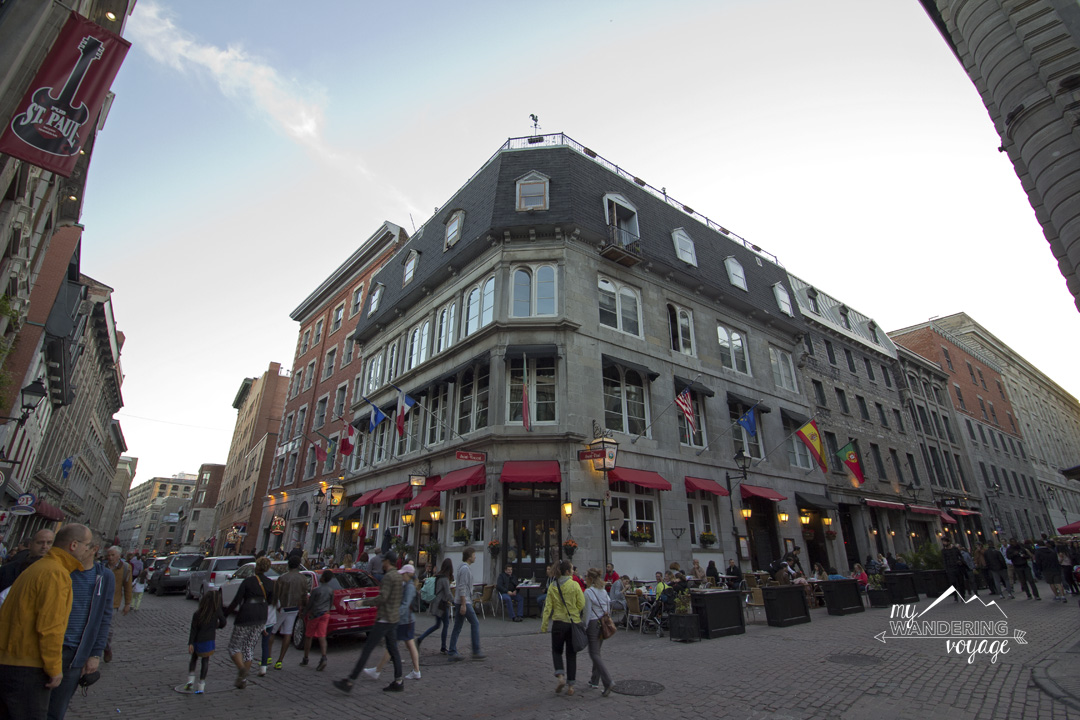 Walk the streets of Old Montreal - Three-day Montreal itinerary   My Wandering Voyage travel blog