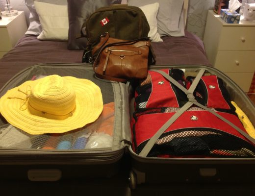 Packing for a trip to Greece