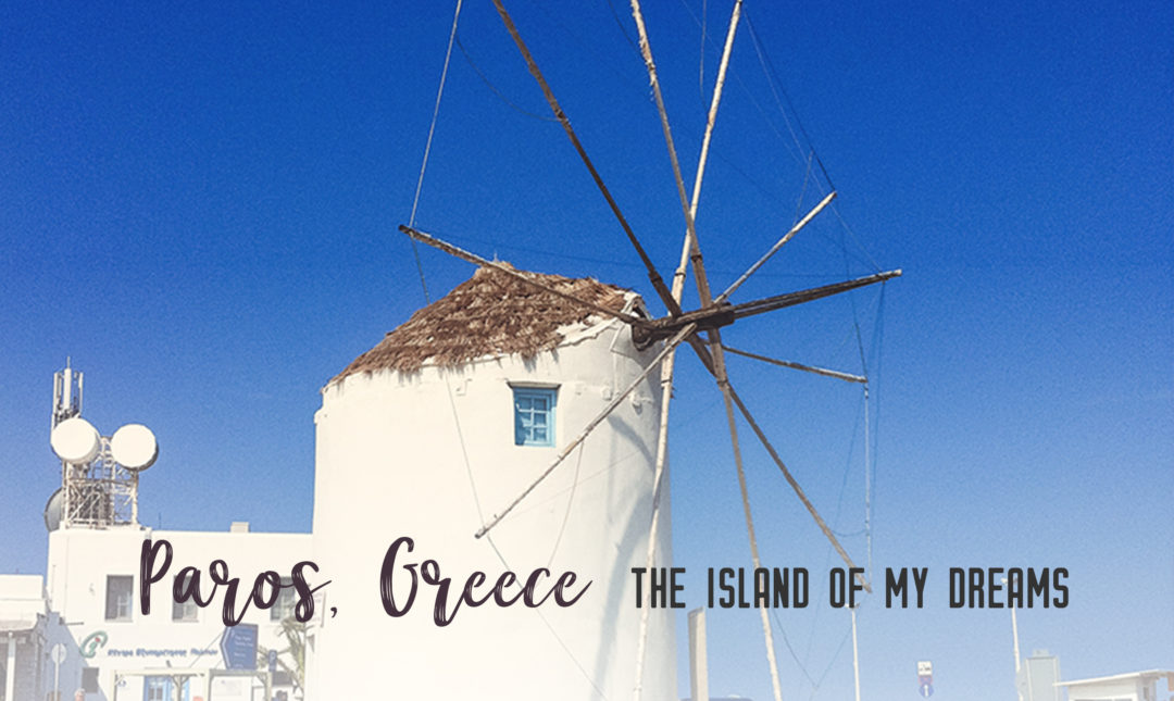 Paros, Greece, the island of my dreams | Paros is a relaxing getaway in the Greek Islands. Check out the beautiful town of Parikia, grab gelato, relax on one of its many beaches and enjoy the laid-back island vibe. | My Wandering Voyage