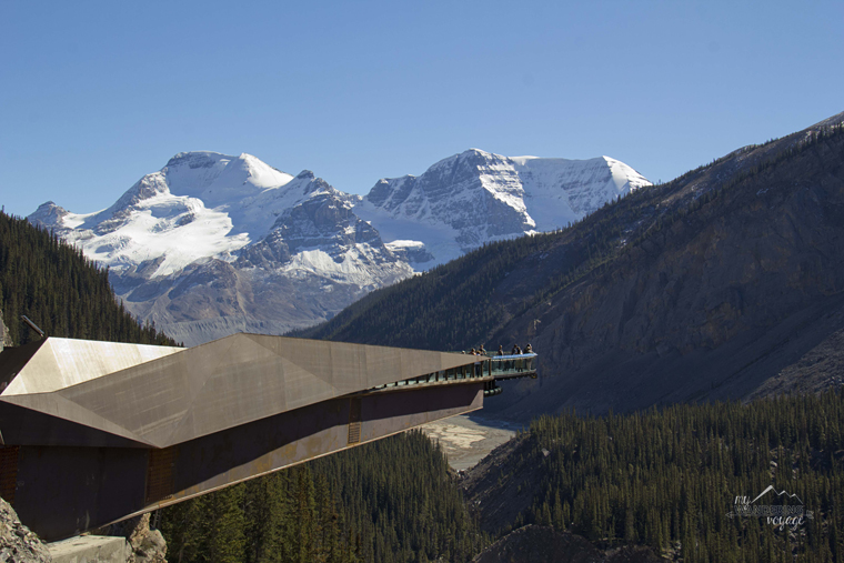 Glacier Sky Walk Jasper National Park | My Wandering Voyage travel blog