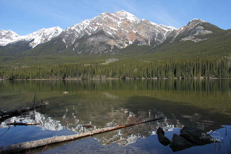 Patricia Lake Jasper National Park | My Wandering Voyage travel blog