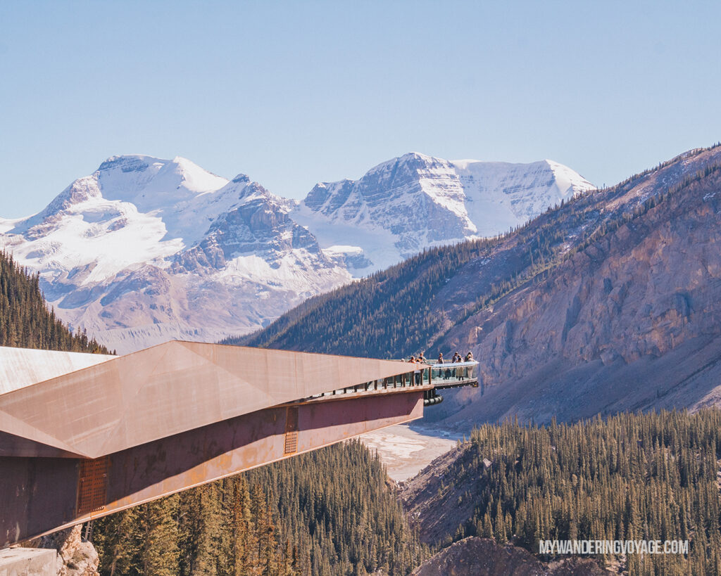 Glacier Skywalk | Top things to see in Jasper and Banff | My Wandering Voyage