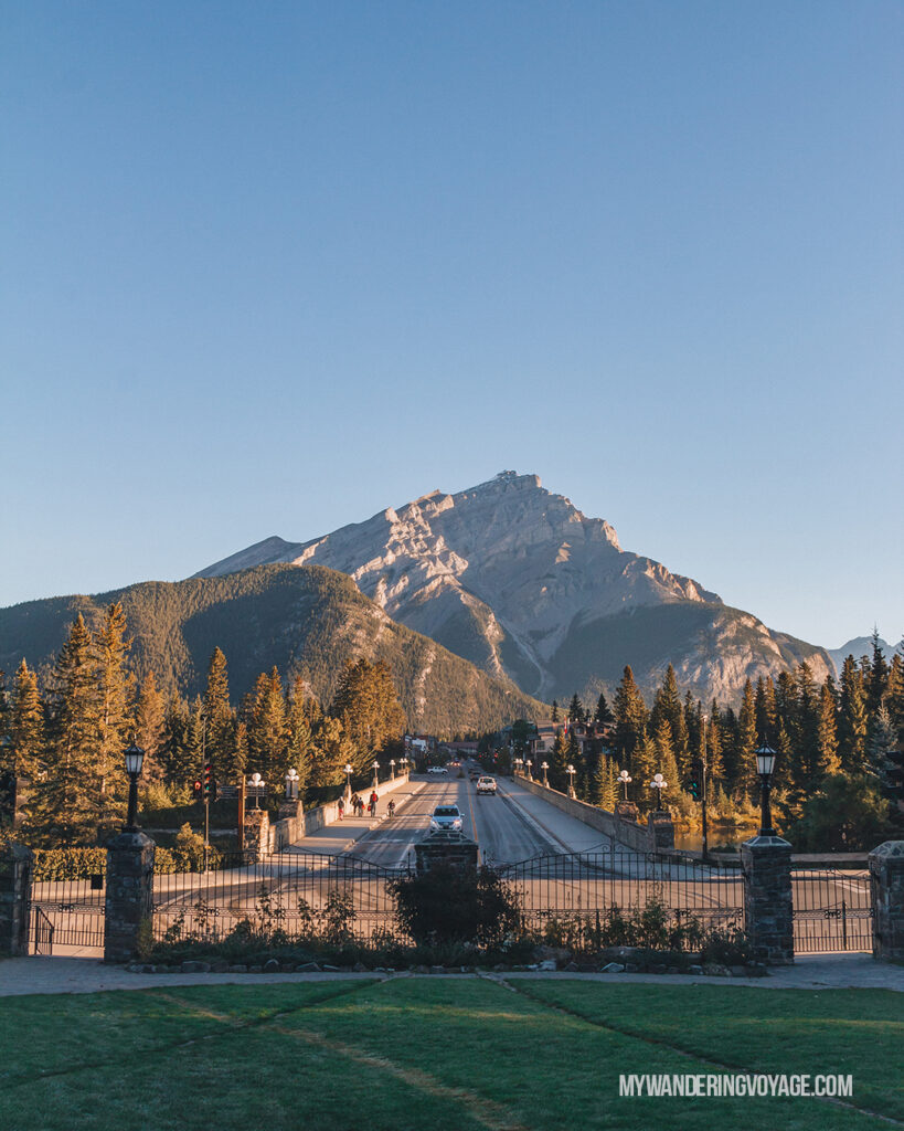 Cascade Mountain Banff | Top things to see in Jasper and Banff | My Wandering Voyage
