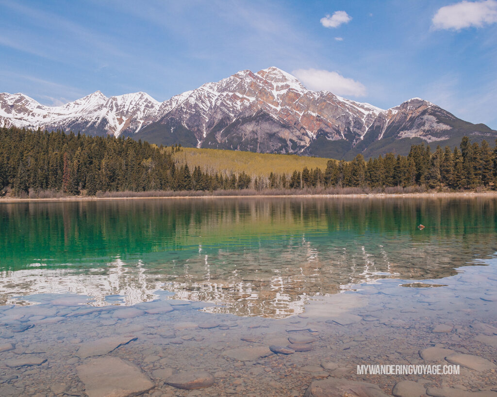 Patricia Lake | Top things to see in Jasper and Banff | My Wandering Voyage