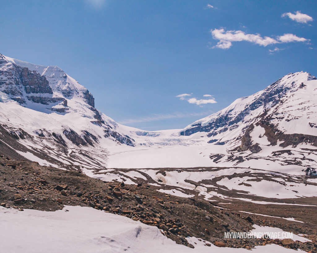 Columbia Icefield | Top things to see in Jasper and Banff | My Wandering Voyage