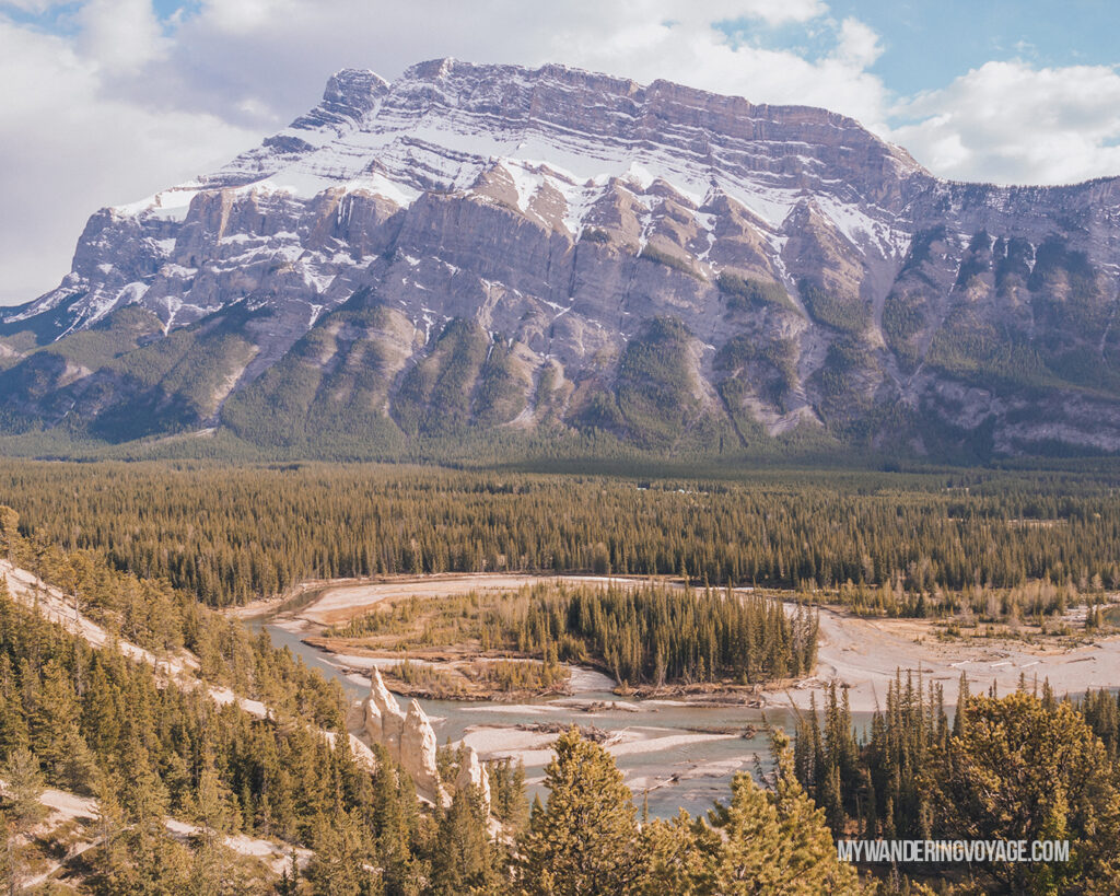 Banff Hoodoos | Top things to see in Jasper and Banff | My Wandering Voyage