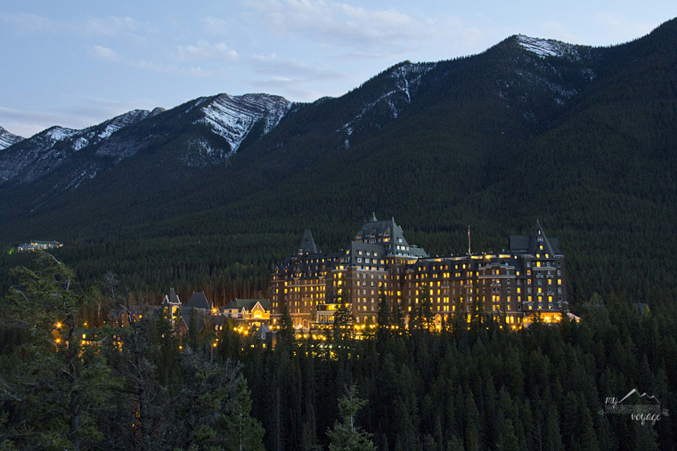 Banff Fairmont Hotel Banff National Park | My Wandering Voyage travel blog