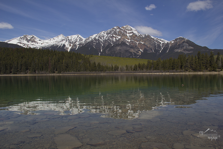 Pyramid Lake Jasper National Park | My Wandering Voyage travel blog