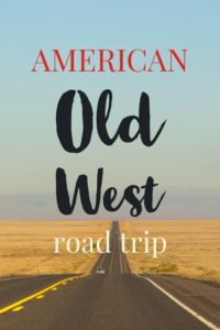 American Old West Road trip - open road | My Wandering Voyage travel blog