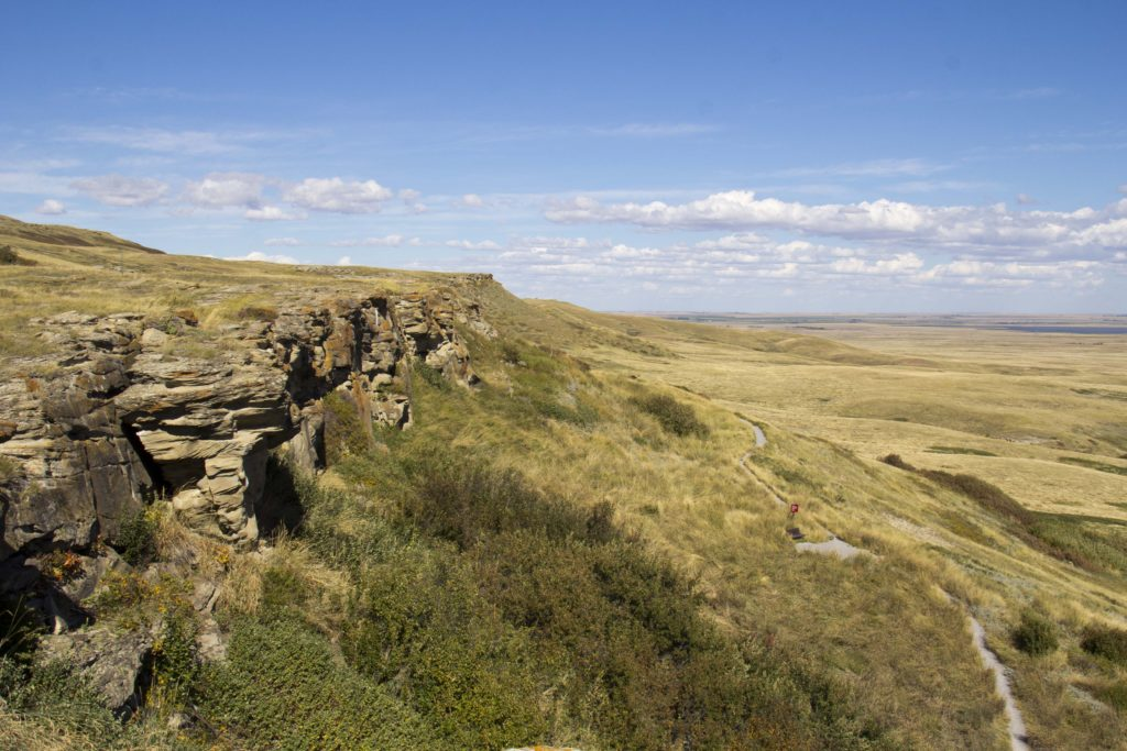 head-smashed-in-buffalo-jump, Alberta UNESCO world heritage site | My Wandering Voyage travel blog