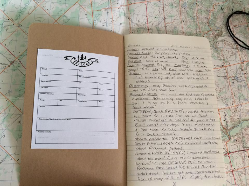 Use a hiking log to keep track of all your hikes | My Wandering Voyage travel blog
