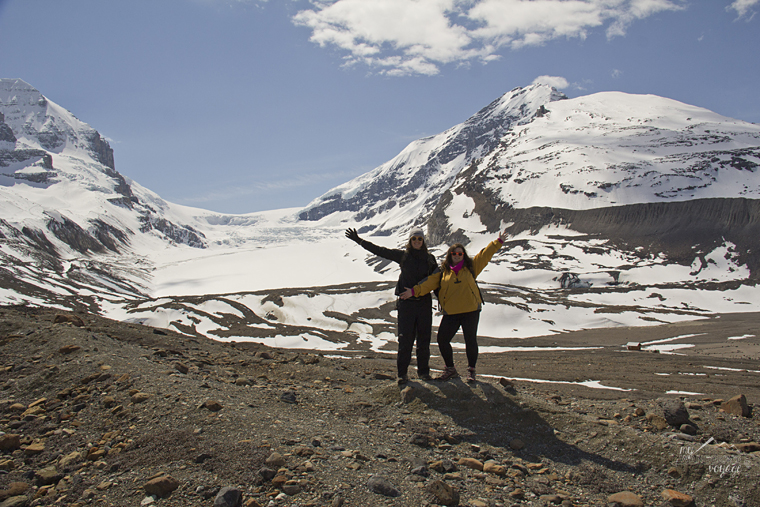 Athabasca Glacier, Alberta - Fire and Ice: A Canadian Road Trip   My Wandering Voyage travel blog
