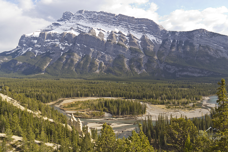 Banff hoodoos - Fire and Ice: A Canadian Road Trip   My Wandering Voyage travel blog