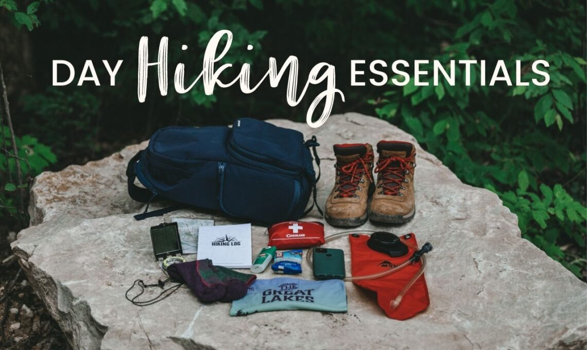 Whether you are hiking for an hour or hiking all day, you need to have these day hiking essentials with you for a safe, and enjoyable journey. Use this day hiking essentials checklist to plan the perfect hike.   My Wandering Voyage travel blog #DayHike #Hiking #HikingEssentials #HikingChecklist