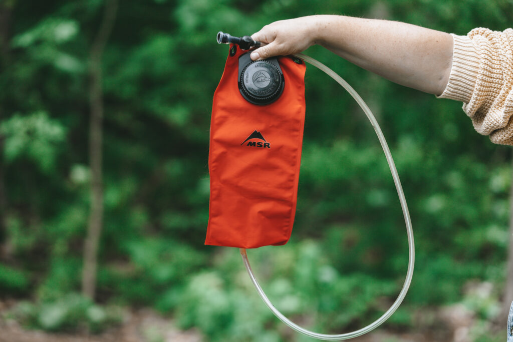 Water bladder   Day hiking Essentials: What's in my day pack?   My Wandering Voyage travel blog #DayHike #Hiking #HikingEssentials #HikingChecklist