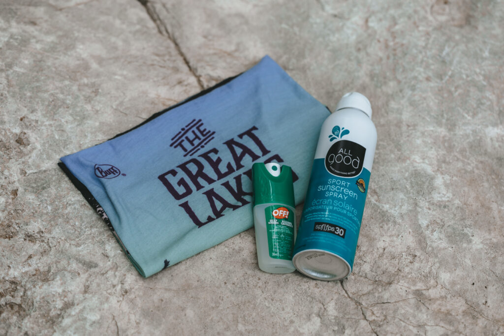 Sun and bug protection   Day hiking Essentials: What's in my day pack?   My Wandering Voyage travel blog #DayHike #Hiking #HikingEssentials #HikingChecklist