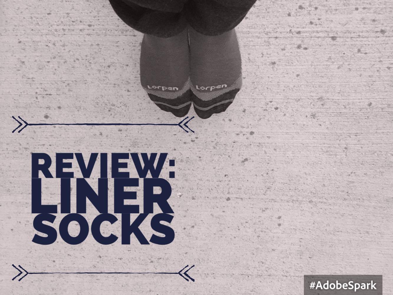 REVIEW Liner Socks | My Wandering Voyage