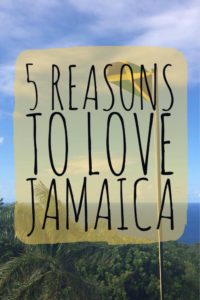 5 Reasons to Love Jamaica - For those sun-seekers out there, the Caribbean offers many fabulous islands to choose. Tropical, beach-lined islands - like Jamaica - offer a great getaway | My Wandering Voyage travel blog #Jamaica #Caribbean #travel