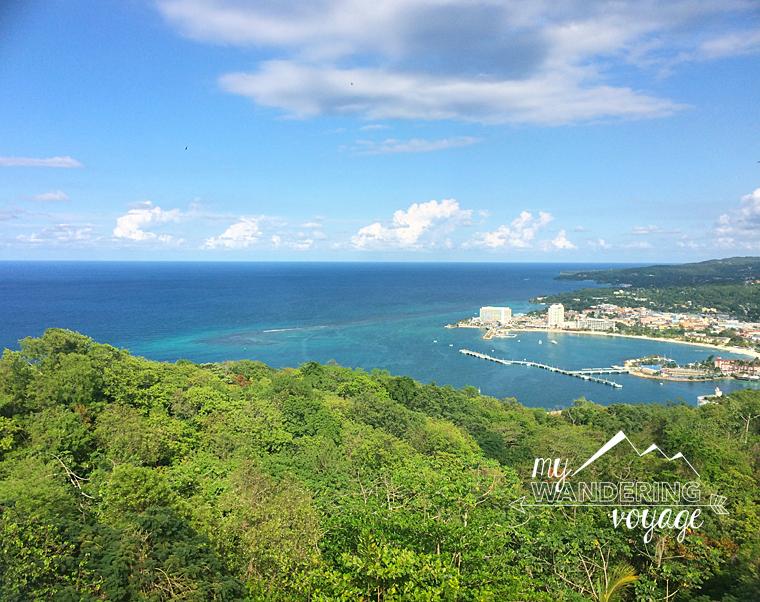 Jamaica cityscape
