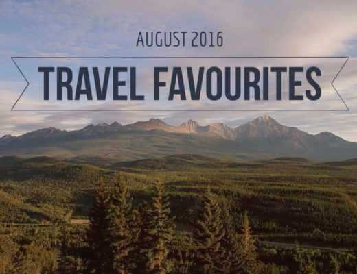 August Travel Favourites