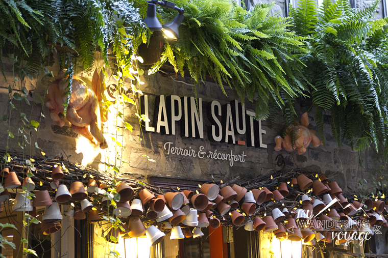 What to eat in Quebec City - Lapin Saute | My Wandering Voyage Travel Blog