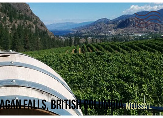 Okanagan Falls British Columbia - My Wandering Postcard | My Wandering Voyage Travel Blog