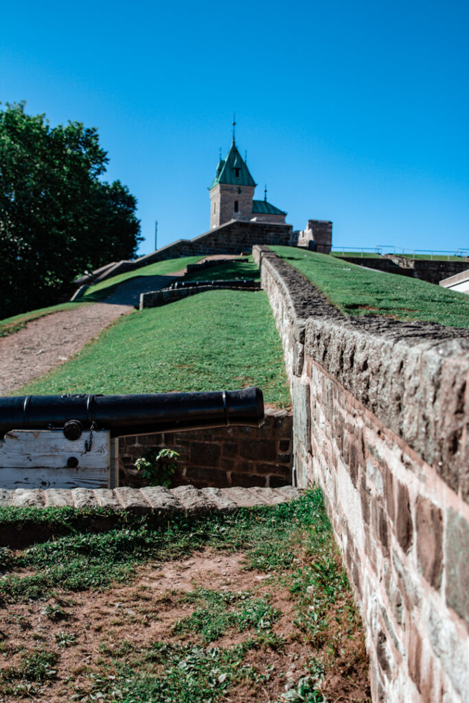 Quebec City Fortifications   Weekend Itinerary: Best Things to do in Quebec City   My Wandering Voyage travel blog #Quebec #QuebecCity #Canada #Travel