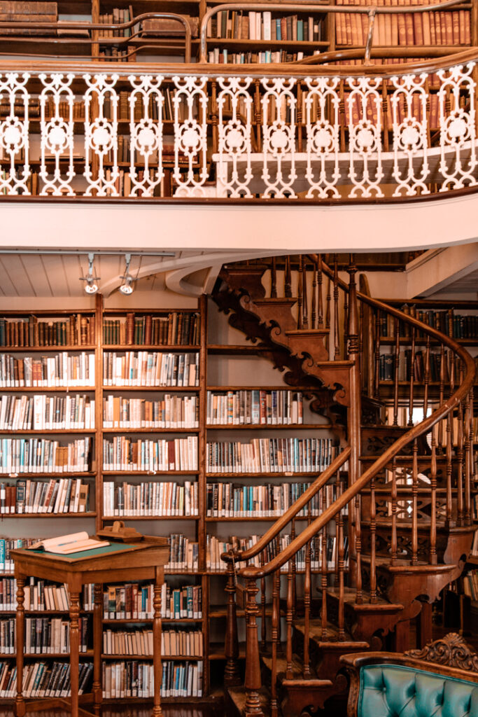 Morrin Centre library   Weekend Itinerary: Best Things to do in Quebec City   My Wandering Voyage travel blog #Quebec #QuebecCity #Canada #Travel