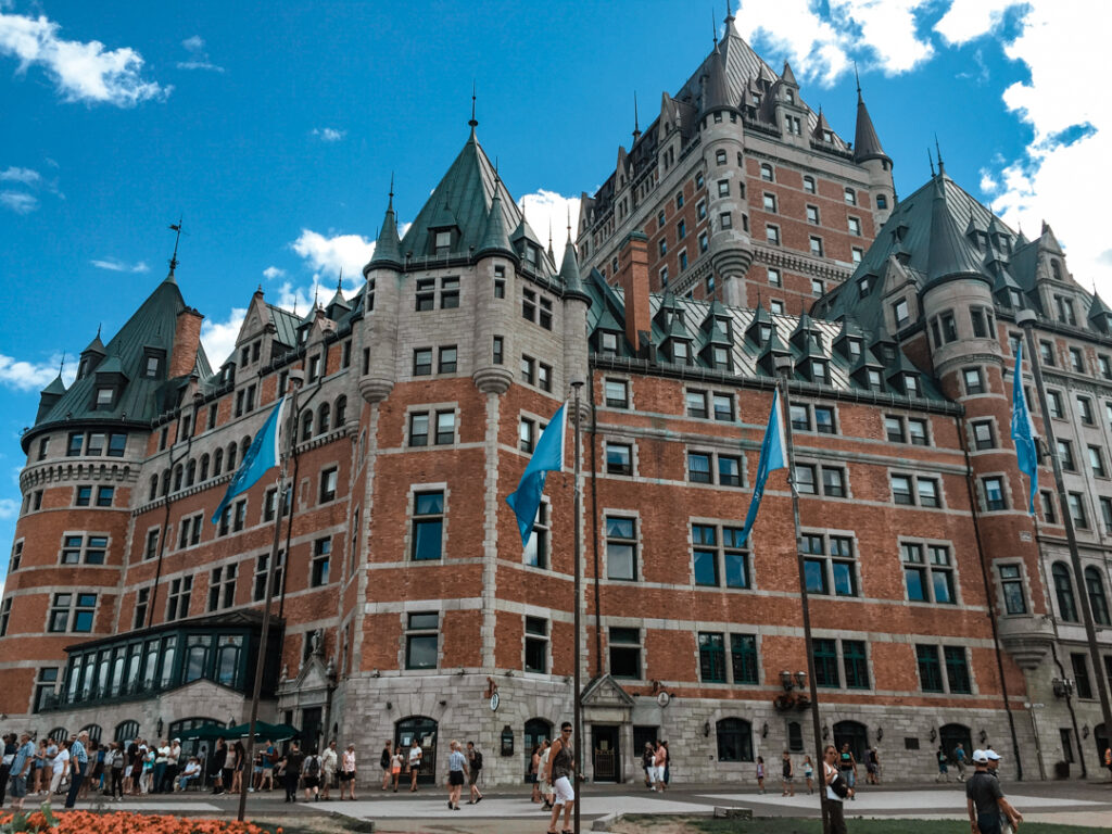 Chateau Frontenac   Weekend Itinerary: Best Things to do in Quebec City   My Wandering Voyage travel blog #Quebec #QuebecCity #Canada #Travel