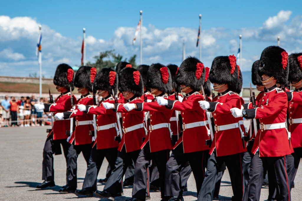 Changing of the Guard at Quebec City's Citadelle   Weekend Itinerary: Best Things to do in Quebec City   My Wandering Voyage travel blog #Quebec #QuebecCity #Canada #Travel