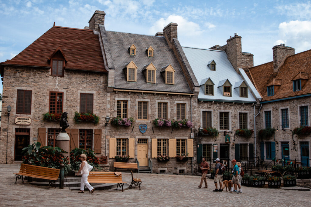 Place Royale   Weekend Itinerary: Best Things to do in Quebec City   My Wandering Voyage travel blog #Quebec #QuebecCity #Canada #Travel