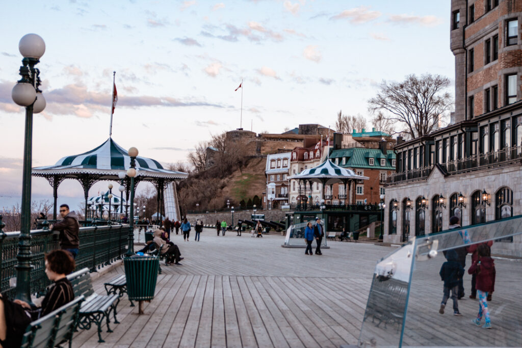 Dufferin Terrace   Weekend Itinerary: Best Things to do in Quebec City   My Wandering Voyage travel blog  #Quebec #QuebecCity #Canada #Travel