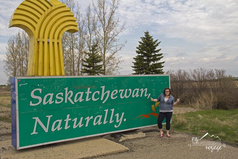 Saskatchewan sign
