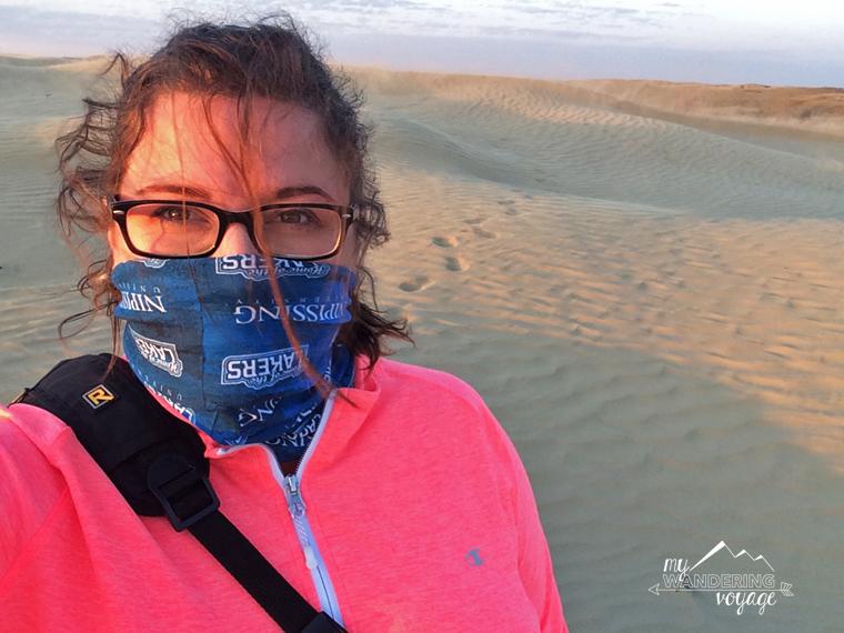Sand Dune Selfie Saskatchewan