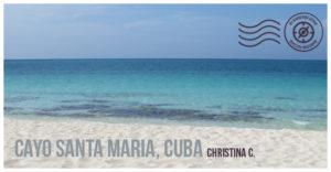 Cayo Santa Maria Cuba - Wandering Postcard | My Wandering Voyage travel blog