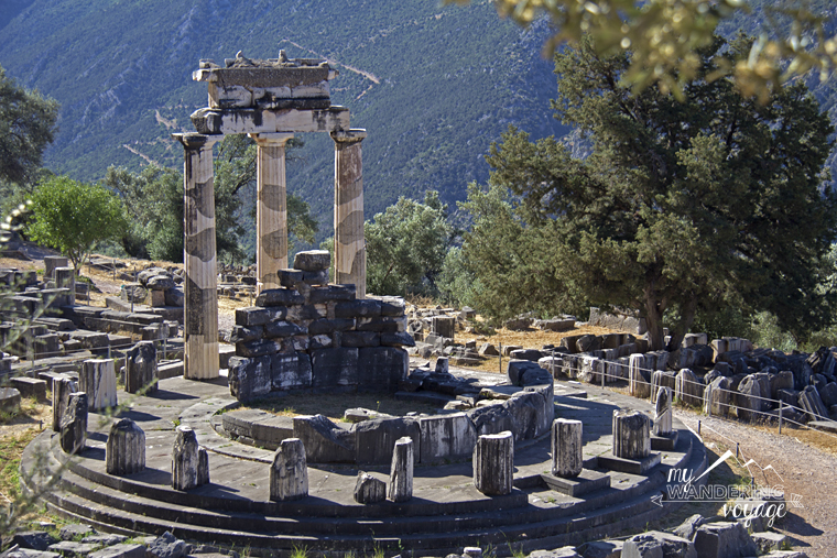 Delphi UNESCO world heritage site - Peloponnese | My Wandering Voyage travel blog