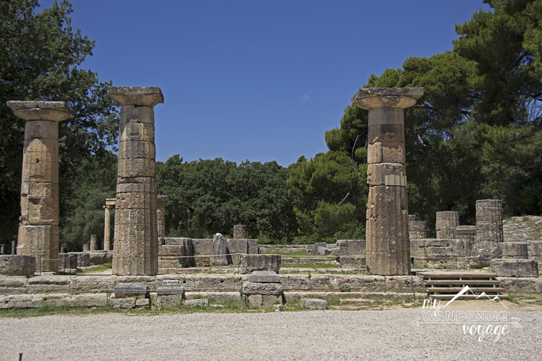 Olympia UNESCO world heritage site - Peloponnese | My Wandering Voyage travel blog