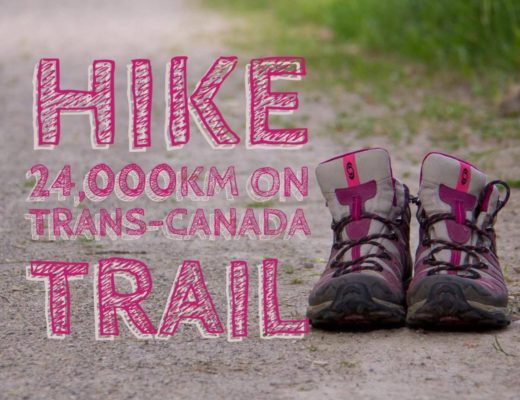 Woman hikes Trans Canada Trail   My Wandering Voyage travel blog