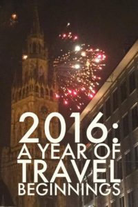 2016: a year of travel beginnings | My Wandering Voyage travel blog