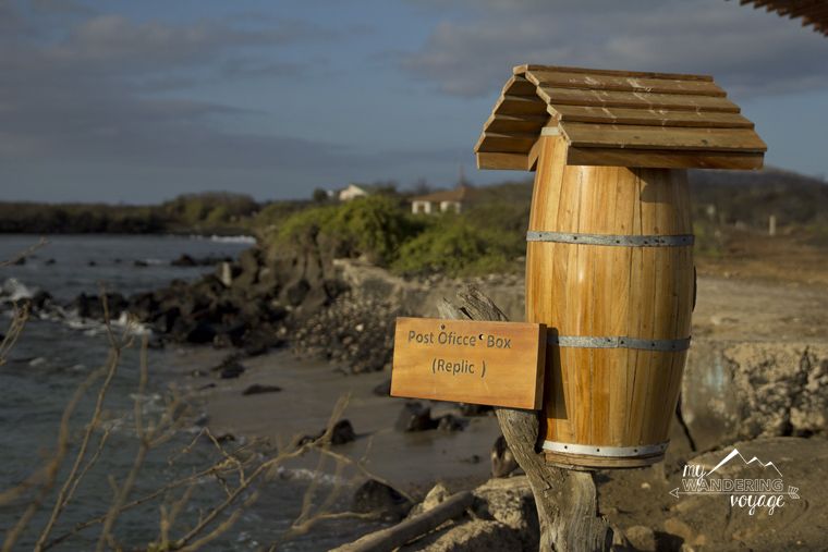 Post office Floreana Island Galapagos | My Wandering Voyage travel blog