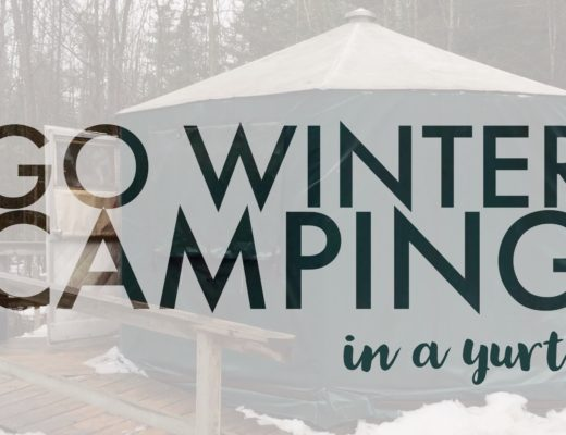 Go winter camping in a yurt | My Wandering Voyage travel blog