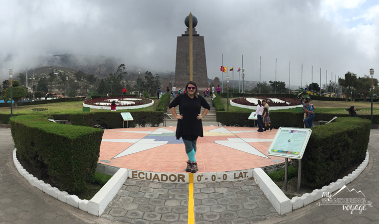 """Equator"" at La Mitad del Mundo, Quito, Ecuador 