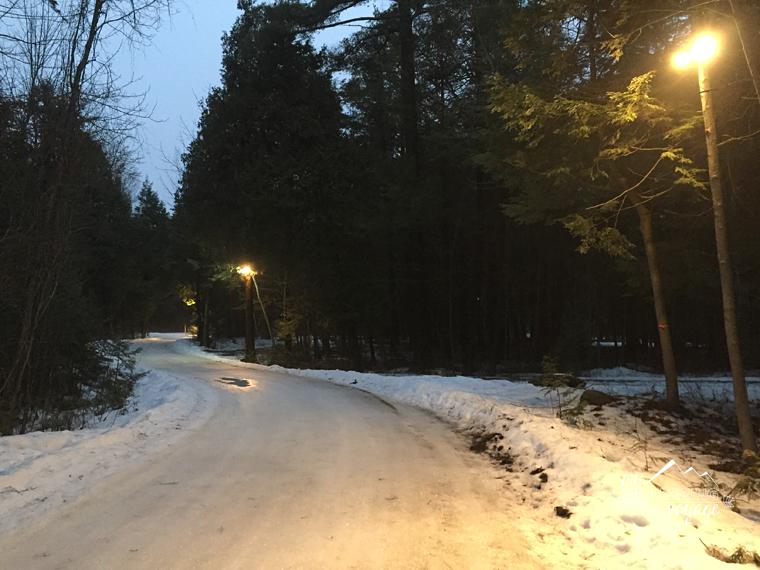 Winter camping and skating oval at MacGregor Point | My Wandering Voyage travel blog