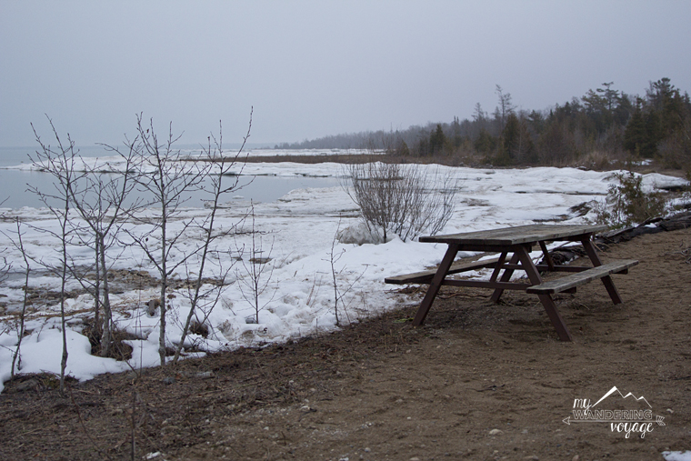 Winter camping at MacGregor Point | My Wandering Voyage travel blog