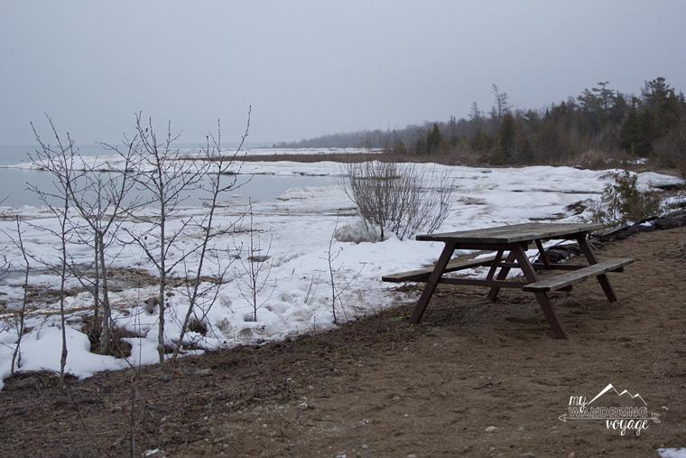 Winter camping at MacGregor Point | My Wandering Voyage travel blog